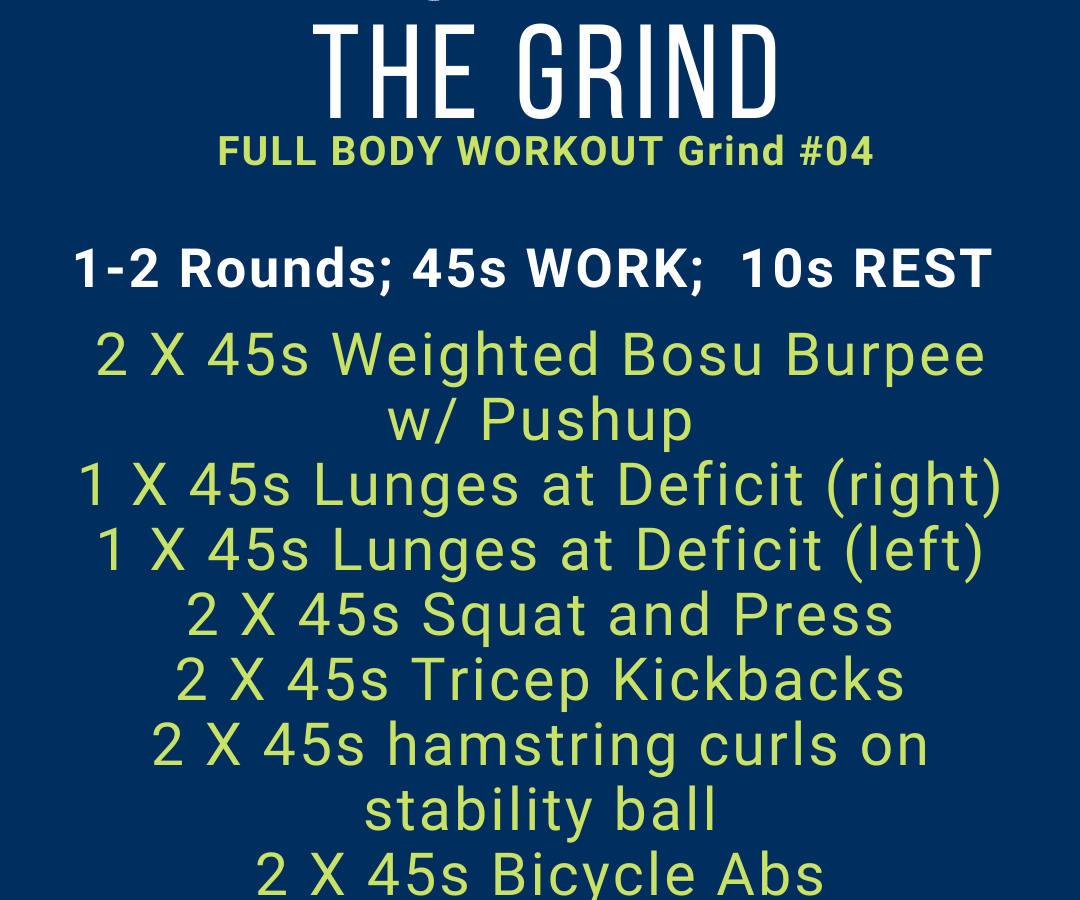 Image of Workout (same as text in article)